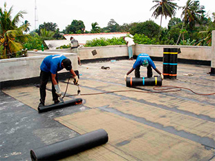 Modify Bitumen Concrete Waterproofing Membrane