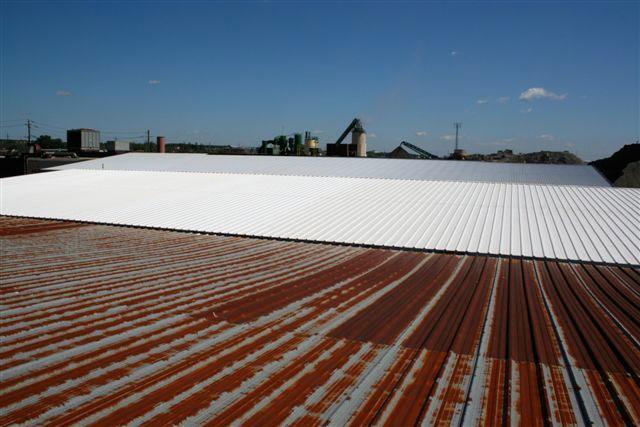 Elastomeric Roof Gutter Coating Roof It